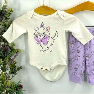 Disney | Aristocats Kitty Onesie and Pants, NB